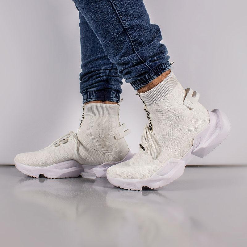 کفش ساقدار off white مدل socuring (سفید)